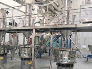 金属粉末输送筛分系统